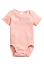 6-pack bodysuits - Light pink - Kids | H&M CN 2